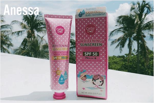 L-Glutathione Magic Cream Whitening Sunscreen